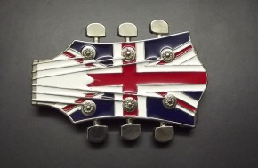 Fivela Guitarra UK Flag (BZM130)
